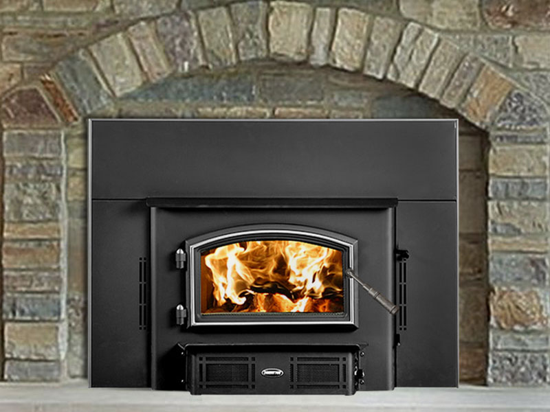 2700i wood insert by Quadra-Fire