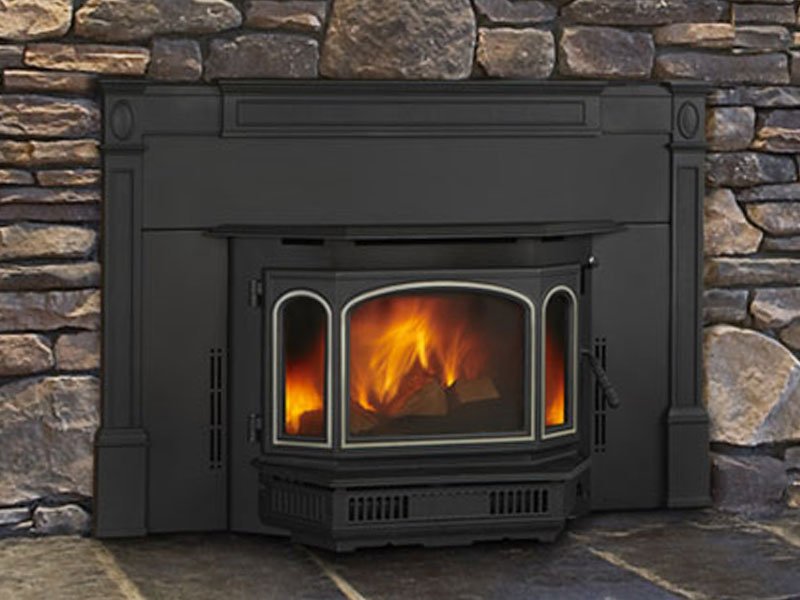 4100i wood stove by Quadra-Fire
