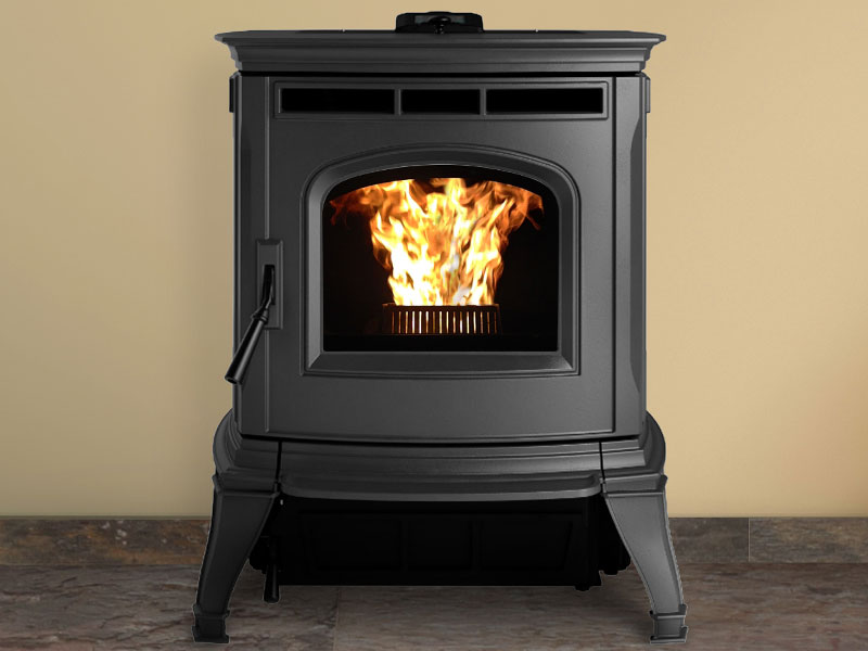 Absolute43 pellet stove by Harman