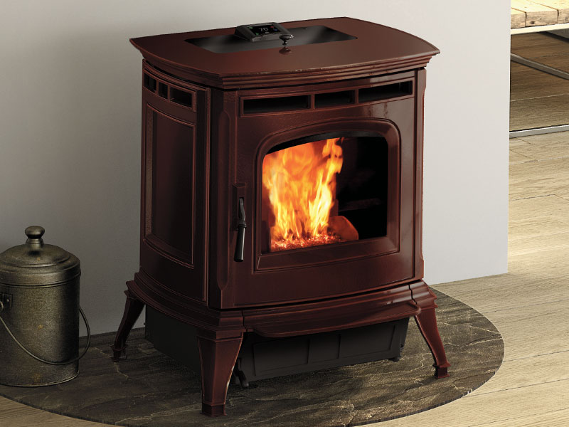 Absolute63 pellet stove by Harman
