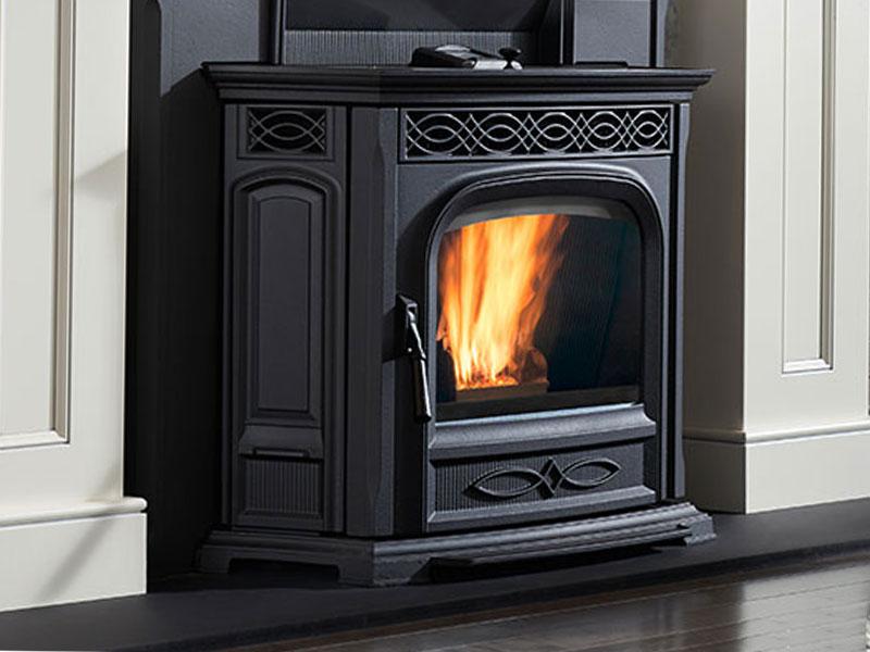 ACCENTRA52I-TC pellet stove by Harman
