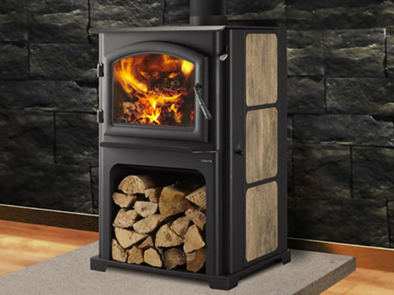 Discovery III wood stove by Quadra-Fire