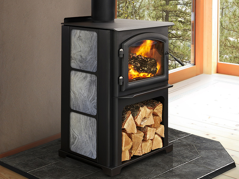 Discovery II Wood Stove by Quadra-Fire