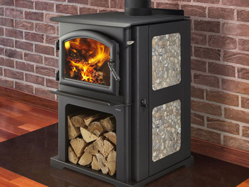 Discovery I wood stove by Quadra-Fire