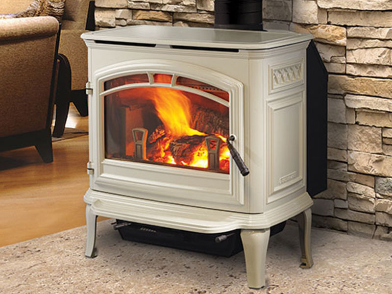 Explorer I wood stove by Quadra-Fire