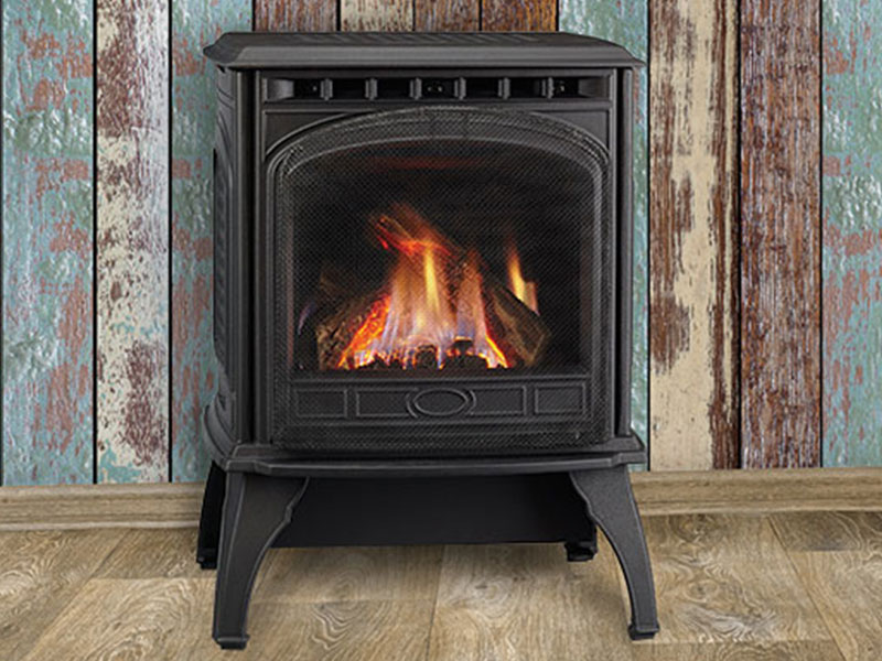 Garnet gas stove by Quadra-Fire