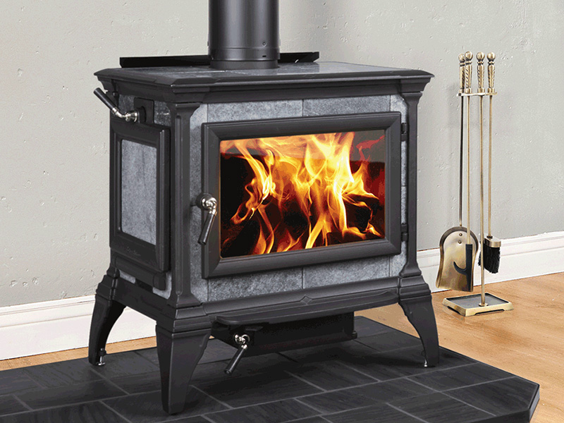 Heritage Wood Stove by Hearthstone