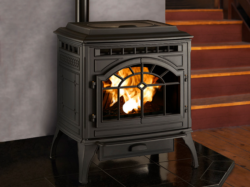 Mt. Vernon E2 Pellet Stove by Quadra-Fire