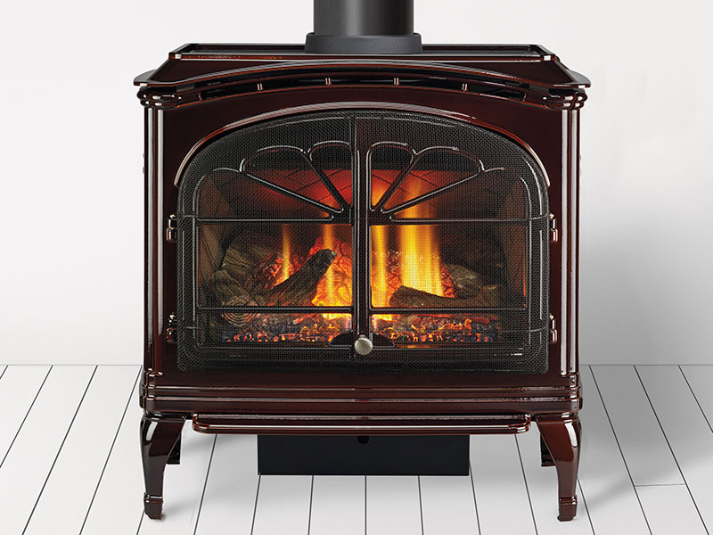 Tiara II gas stove by Heat & Glo
