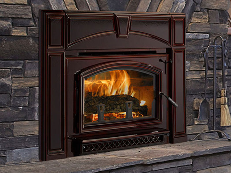 Voyegeur wood insert by Quadra-Fire