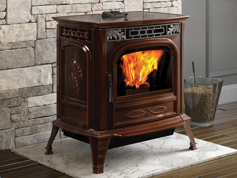 XXV-TC Pellet Stove by Harman